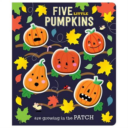 Pumpkin Decorating Ideas For Kids (FIVE LITTLE PUMPKINS BB)