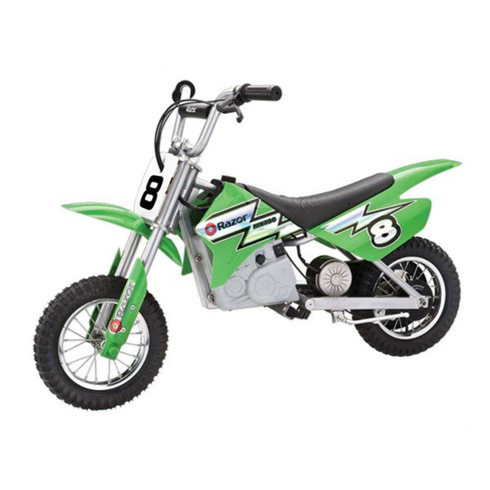 Razor MX400 Dirt Rocket 24V Electric Toy Motocross Motorcycle Dirt Bike,  Green - Walmart.com