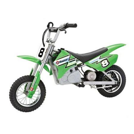 razor mx400 dirt rocket 24v electric toy motocross motorcycle dirt bike,  green - walmart com