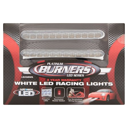 Optronics Platinum Burners Led Series White Led Racing