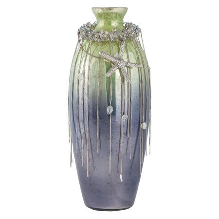 - Sterling Corfu 16 in. Glass Table Vase