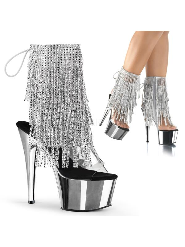 ADO1017RSF/C-S/SCH (Exotic Dancing)Ankle/Mid-Calf Boots Boots Dancing)Ankle/Mid-Calf Size: 6 182529