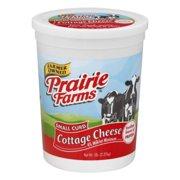 Prairie Farms Small Curd Cottage Cheese, 80 Oz.