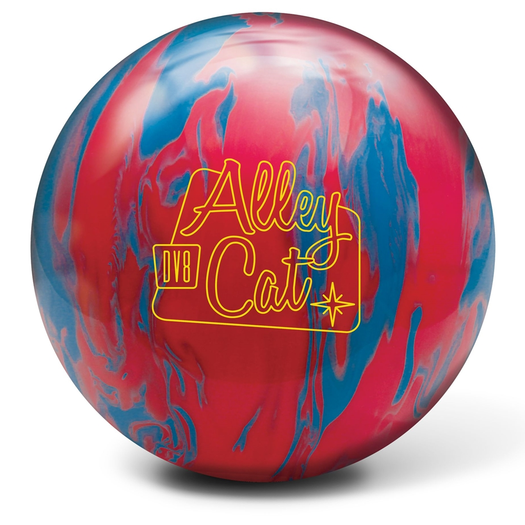 DV8 Alley Cat Bowling Ball- Red Electric Blue 14lbs