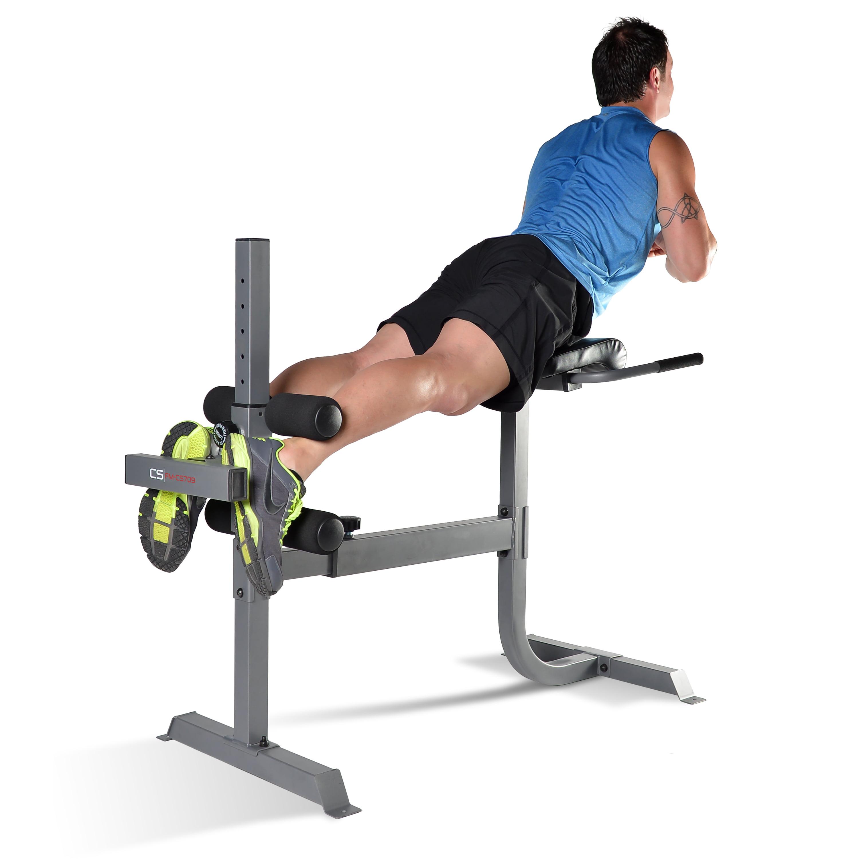CAP Strength Deluxe Roman Chair/Hyperextension Bench - Walmart.com ...