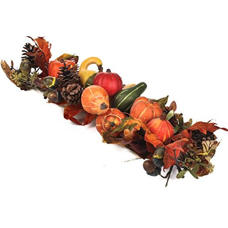 Factory Direct Craft Autumn Harvest Gourd and Pumpkin Swag - Factory Direct Crafts