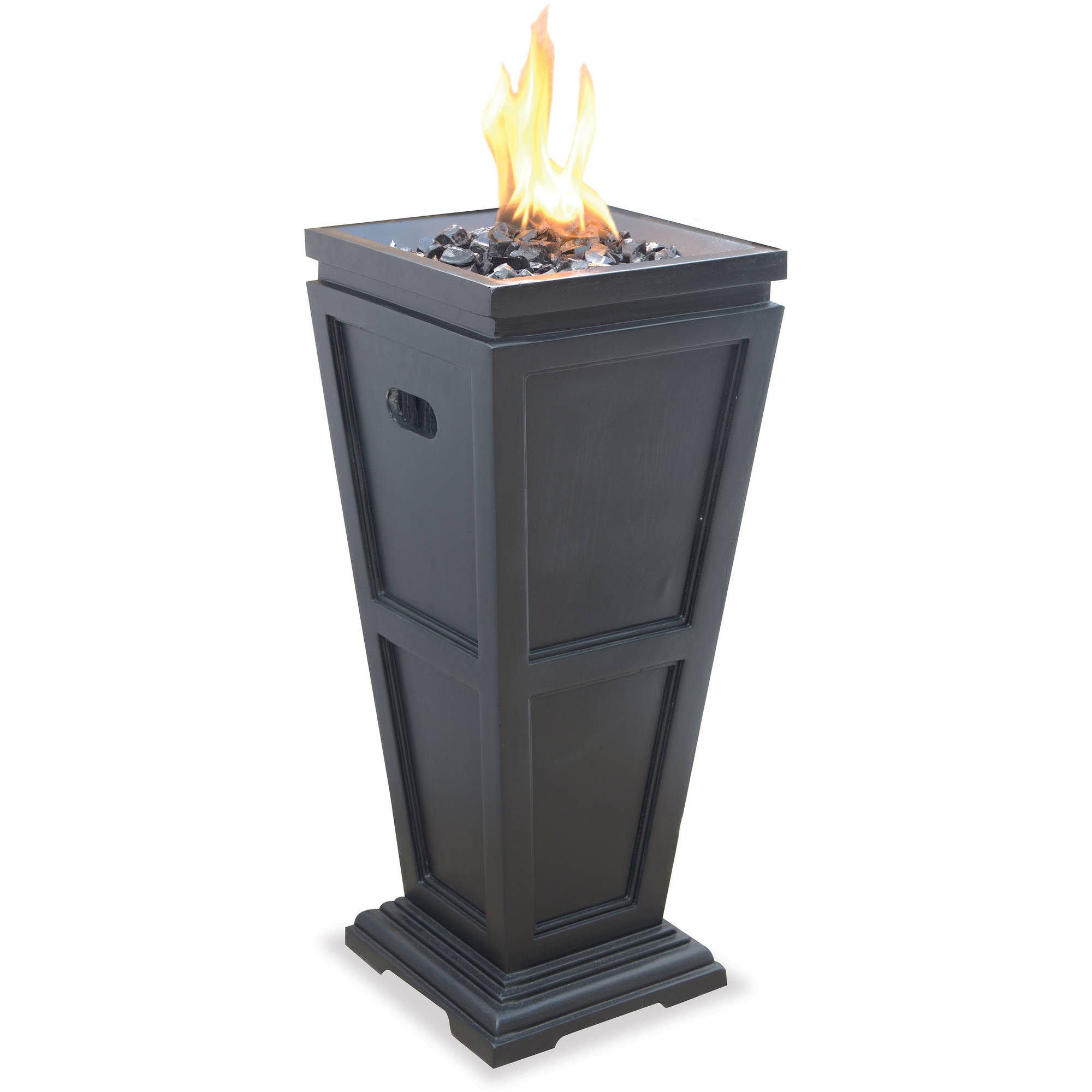 Endless Summer Black Wood Burning Outdoor Firehouse Walmart Com