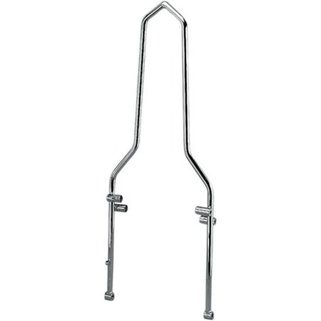 Drag Specialties DS-264117 Round Sissy Bar for Hardtail (Best Hardtail For 500)