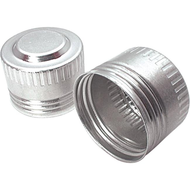 Allstar Performance ALL50822 Aluminum -4 AN Caps, Natural - Pack of 20 - image 1 of 1