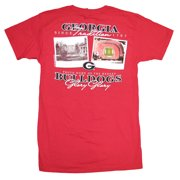 UGA Bulldogs Then and Now SS T-shirt