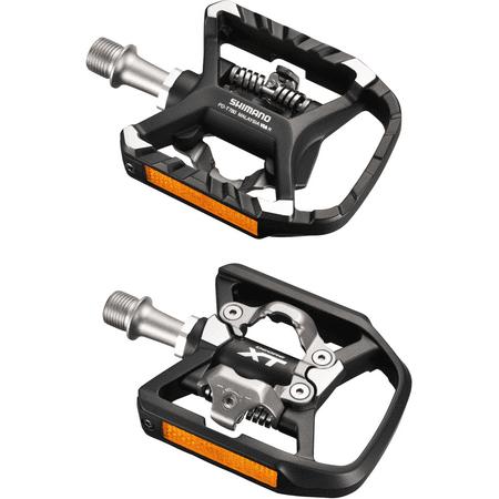 67cc09e34 Shimano Deore XT T780 Dual Platform   SPD Pedals + SM-SH56 Multi Release  Cleats - Walmart.com