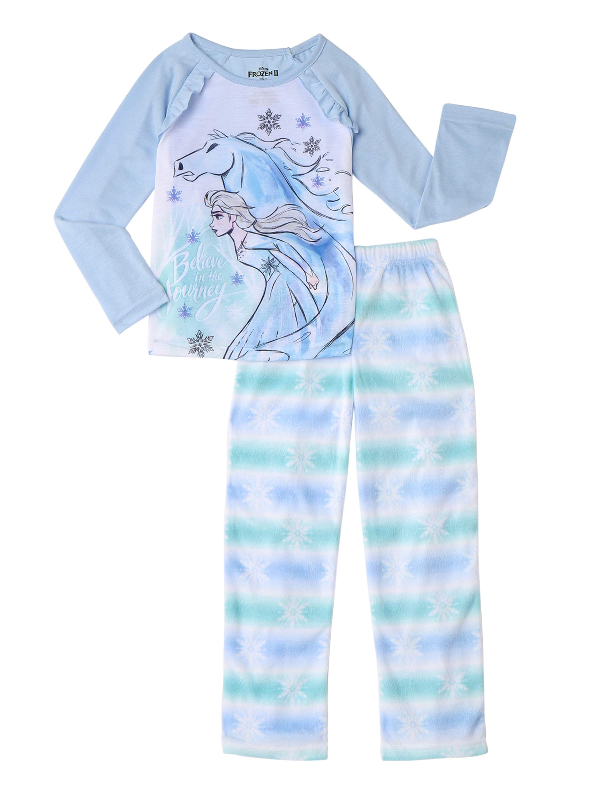 Frozen 2 Girl's Ana & Elsa 2-Piece Pajama Set (Little Girls & Big Girls)