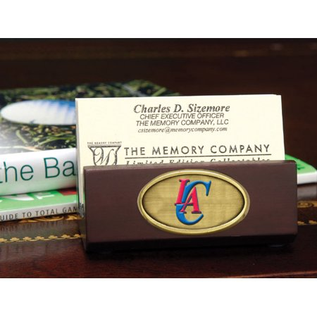 Los Angeles Clippers Business Card Holder by