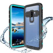 Galaxy S9 Plus Waterproof Case(Not for S9), Shockproof Built-in Screen Protector Case Full-Body Rugged Resistant Protective Hard Cover For Samsung Galaxy S9+,Blue