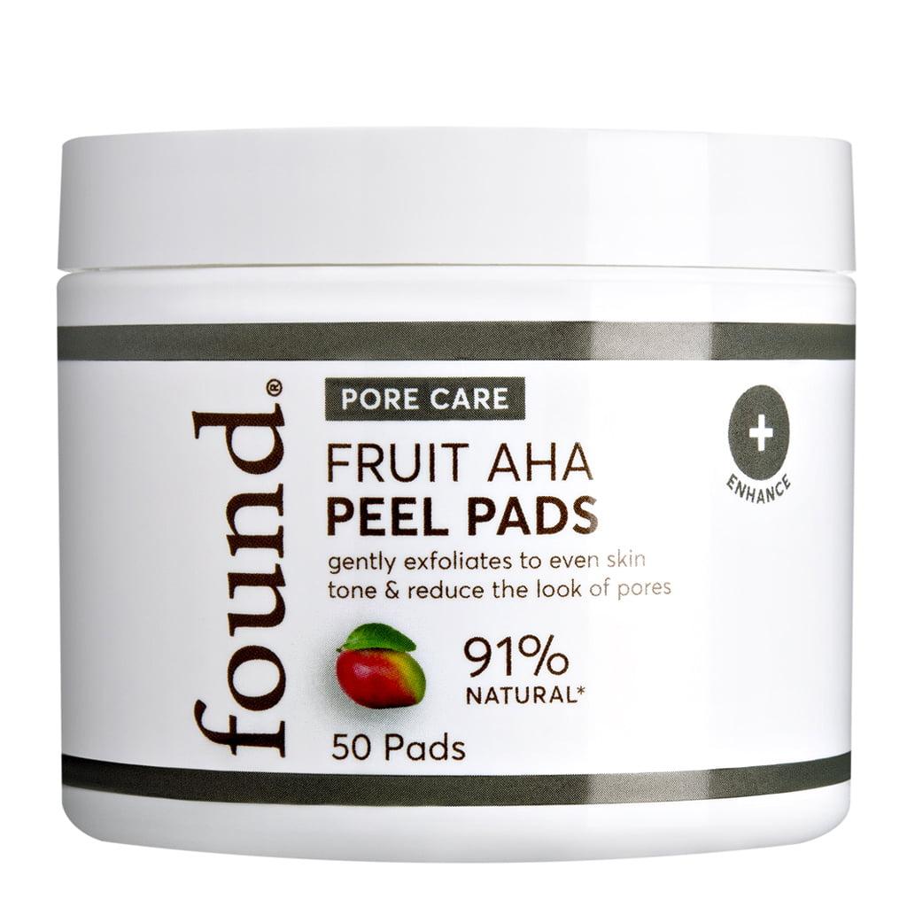FOUND Fruit AHA Peel Pads, 50 Pads