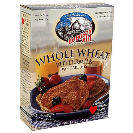 Hodgson Mill Whole Wheat Buttermilk Pancake Mix, 32 oz, (Pack of (Best Hodgson Mill Yeasts)
