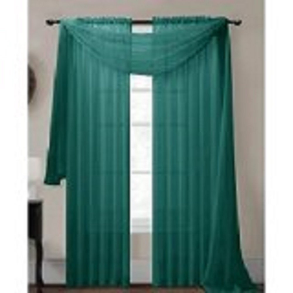 1 pc solid teal green high quality window