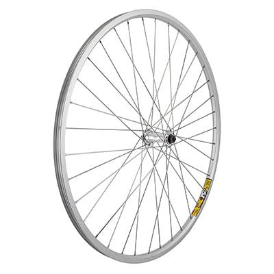 Wheel Front 700x35 Weinmann ZAC19 Silver 36 Alloy Quick Release SS