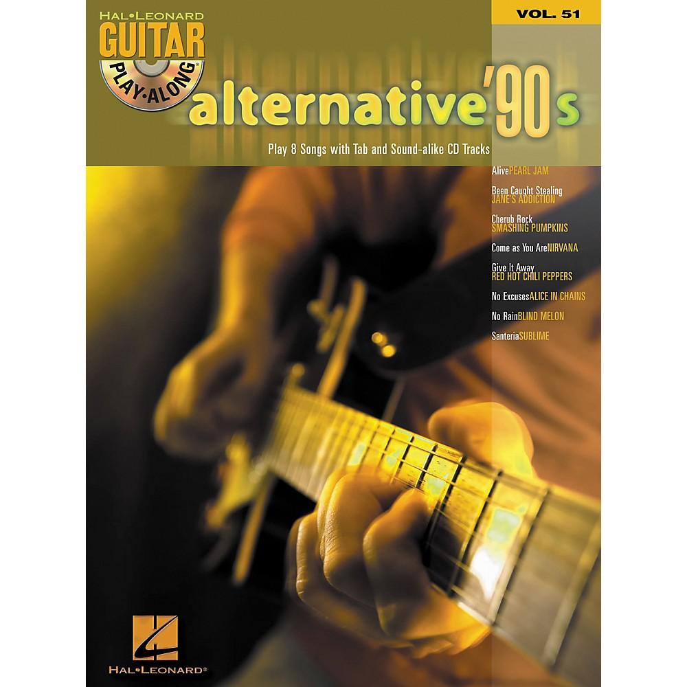 Hal Leonard Alternative '90s Guitar Play-Along Series Book & CD, Volume 51