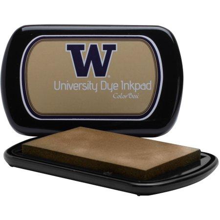 Washington Huskies Colorbox Dye Inkpad - Gold - No Size
