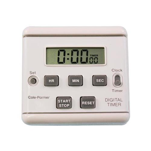 Amplivox Clip-On Clock Timer APLS1321