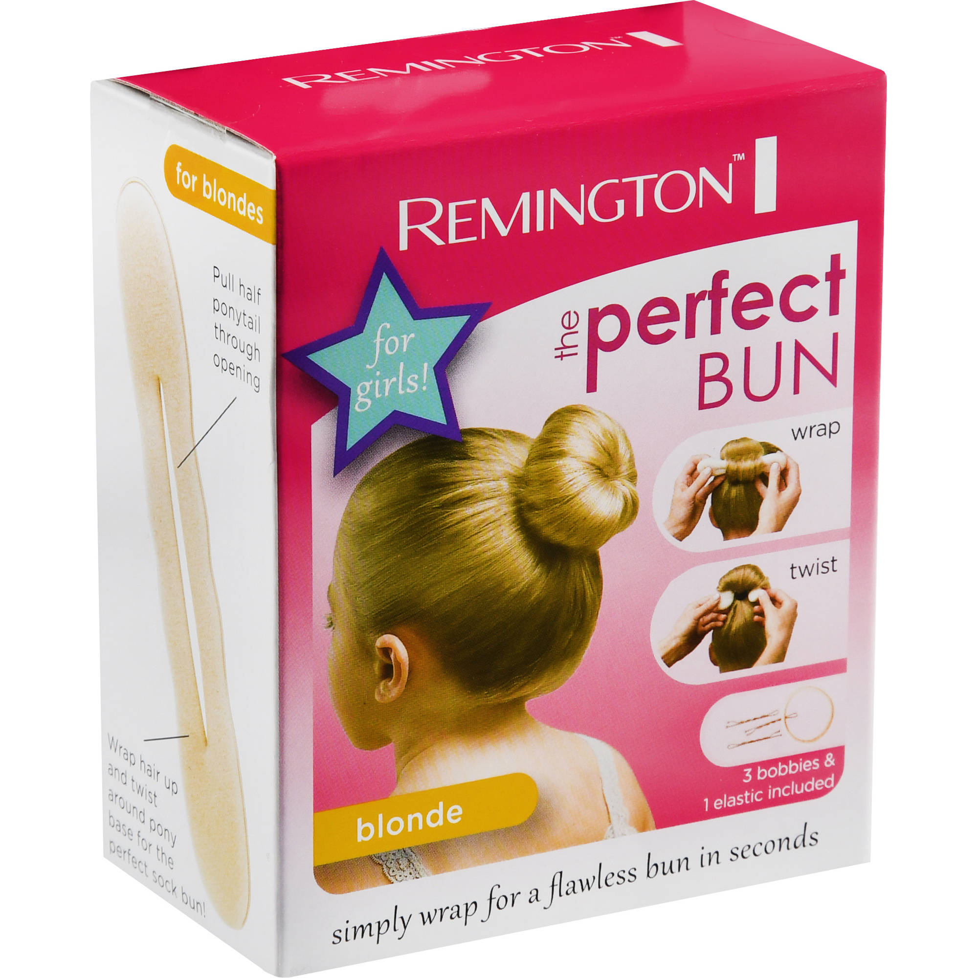 Remington Perfect Bun for Girls, GSB1W1-Colors May Vary
