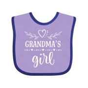 Grandma Girl Gift for Granddaughter Baby Bib