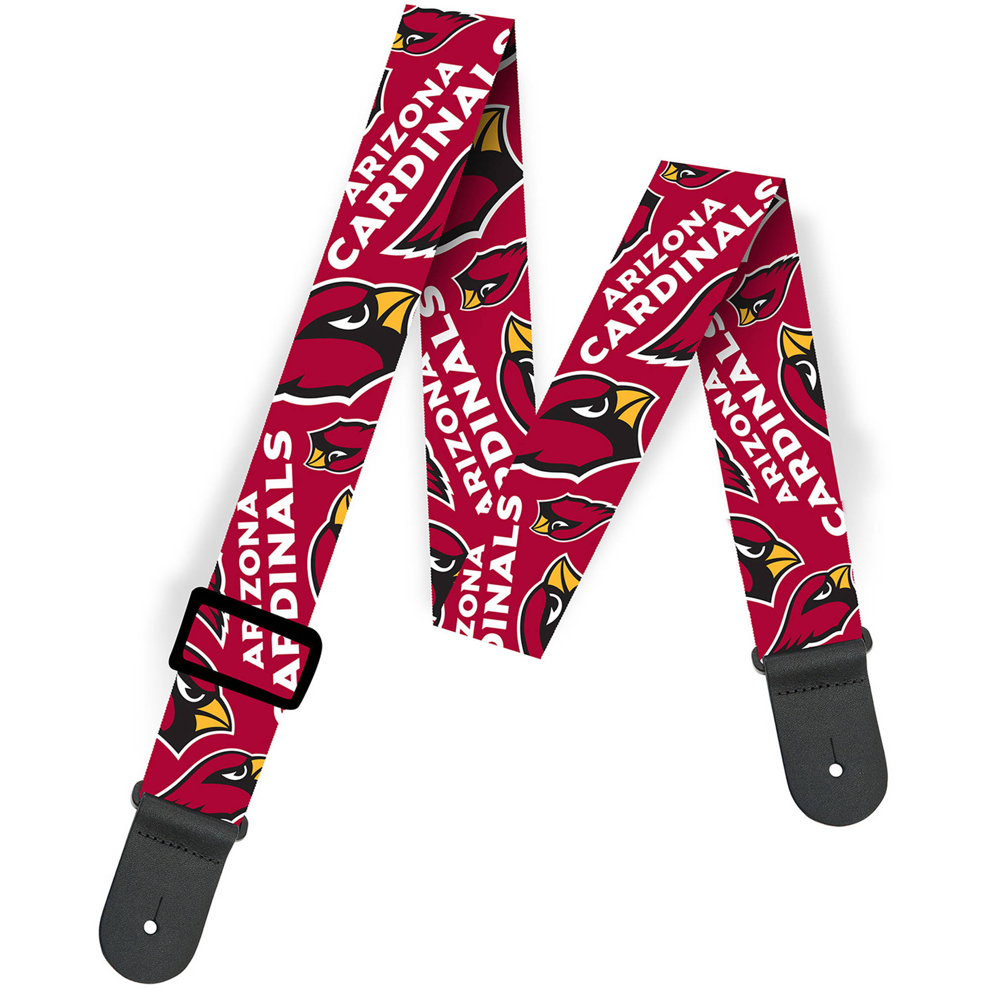 Woodrow NFL Guitar Strap, Arizona Cardinals