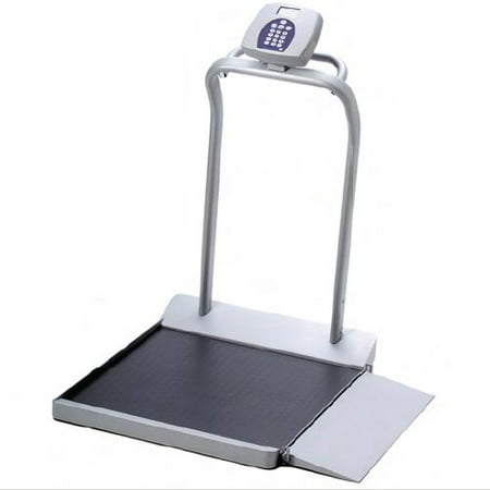 Health o Meter 1000 lbs LCD Digital Wheelchair Scale