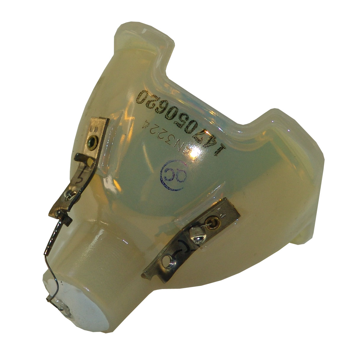 Original Philips Projector Lamp Replacement with Housing for Optoma DH1016 - image 4 of 5