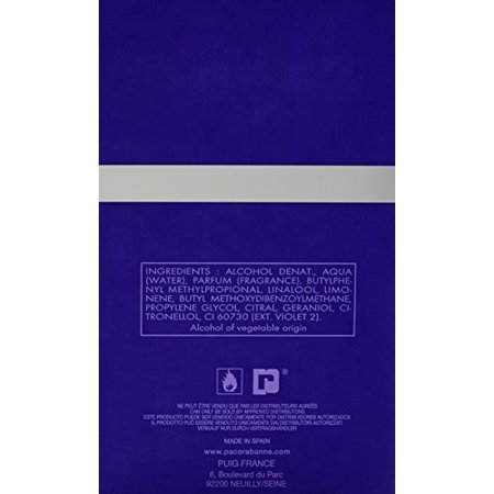Ultraviolet Men Eau-de-toilette Spray by Paco Rabanne 3.4 Ounce