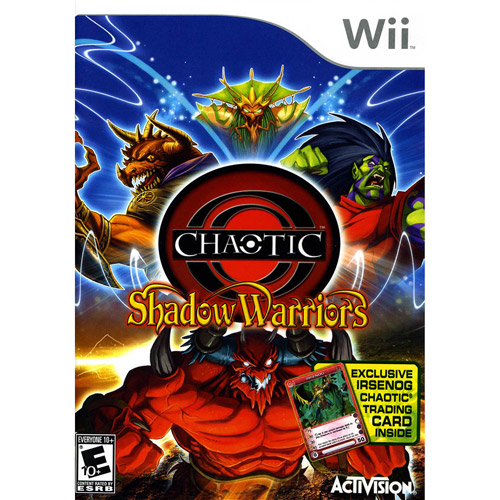Chaotic: Shadow Warriors - Nintendo Wii (Includes BONUS Exclusive Trading Card)