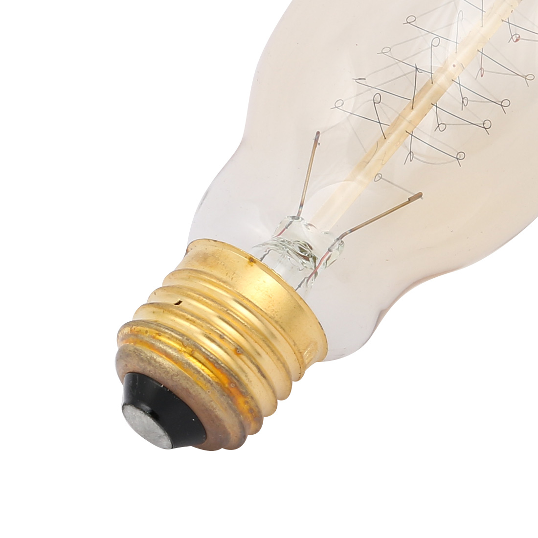BT75 40W 2200K Vintage Edison Bulb Filament Light Antique Style E27 Base - image 1 of 2