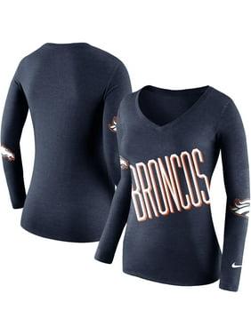 eae5f190 Product Image Denver Broncos Nike Women's Champ Drive 2 Long Sleeve T-Shirt  - Navy