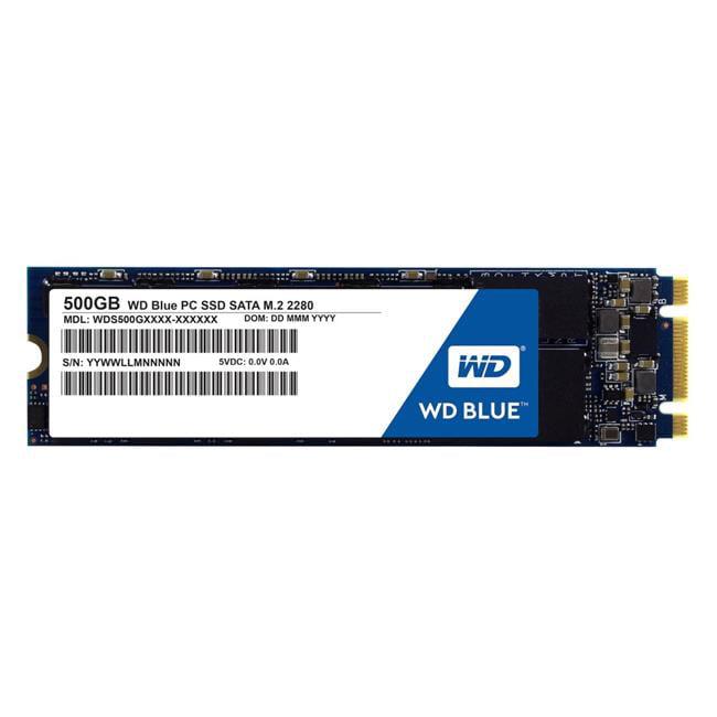 Western Digital WDS500G1B0B 500 GB Internal SSD Solid State Drive SATA 6Gb-s, Blue by Western Digital