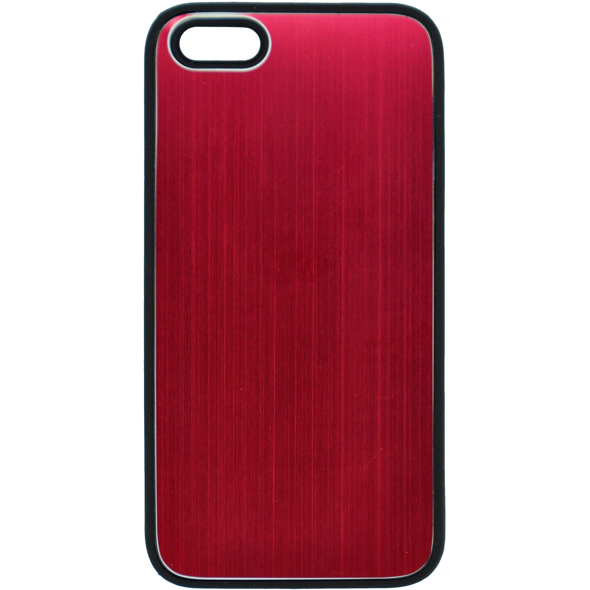 iPhone 4/4S TPU Case, Gunmetal/Red