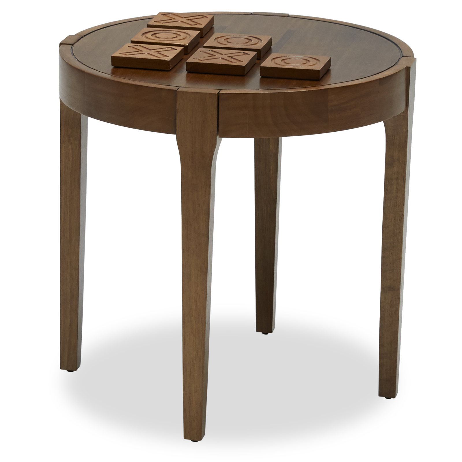Exceptionnel Game Board Wood Side Table With Coasters By Drew Barrymore Flower Home