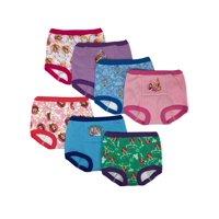 Disney Princess Toddler Girls Training Pants, 7-Pack