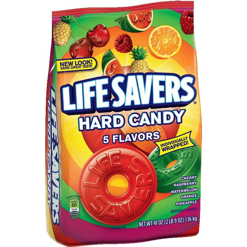 Life Savers 5 Flavors Hard Candy Bag, 41 ounce