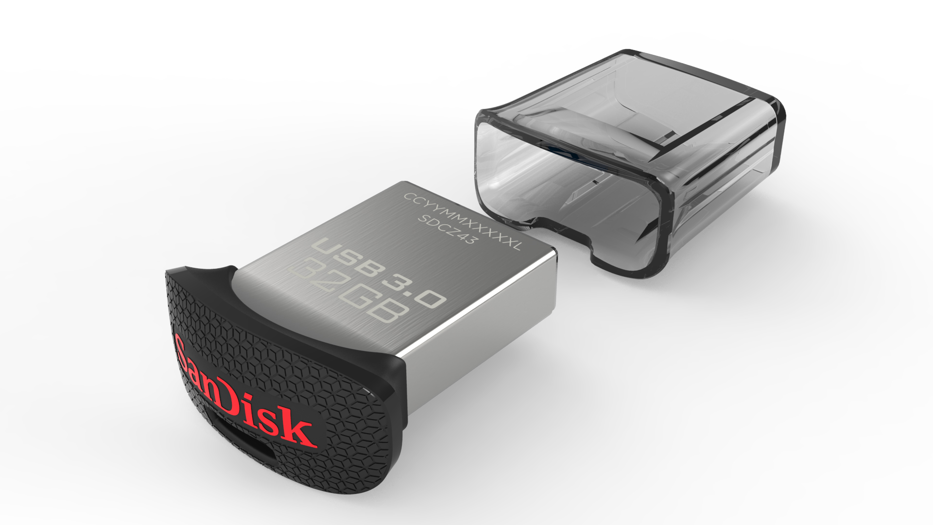 SanDisk 32GB Ultra Fit™ USB 3.0 Flash Drive - SDCZ43-032G-A46