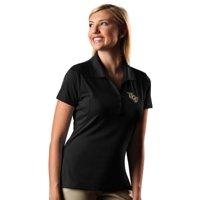 UCF Knights Antigua Women's Pique Xtra-Lite Polo - Black
