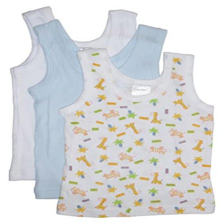 Bambini Boys Printed Tank Top Variety 3 Pack Large - image 2 de 2
