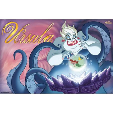 Trends International Disney Villains Ursula Wall Poster 22.375