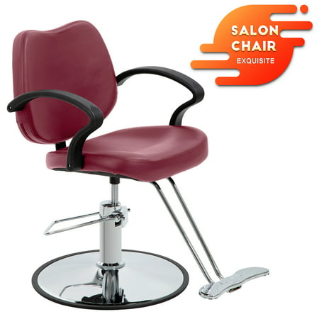 Terrific Barber Chair Salon Chair Styling Chair Hydraulic Pump Barber Chair Heavy Duty Beauty Salon Barber Swivel Chair Shampoo Styling Hair Chairs Hair Download Free Architecture Designs Remcamadebymaigaardcom