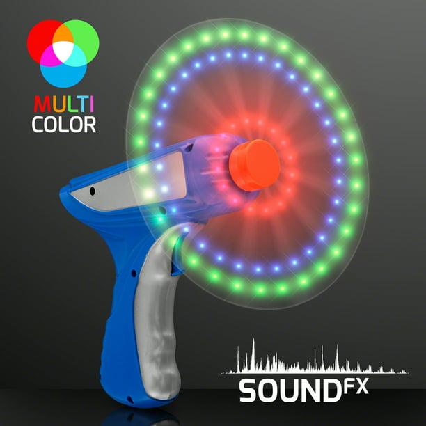 Flashingblinkylights Space Blaster Toy Gun With Spinning Led Lights Walmart Com Walmart Com