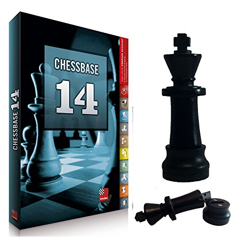 ChessBase 14 Premium Package, Database Management Chess Software and Chess King Flash Drive by