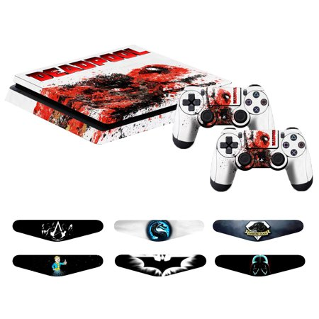Fast Deliver Soul Calibur Skin Stickers For Sony Playstation 4 Console Faceplates, Decals & Stickers