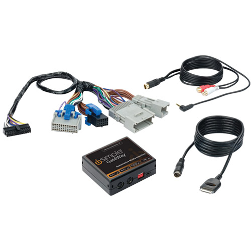 iSimple ISGM575 iPod/iPhone and AUX Audio Input Interface with HD Radio for Select GM Class II