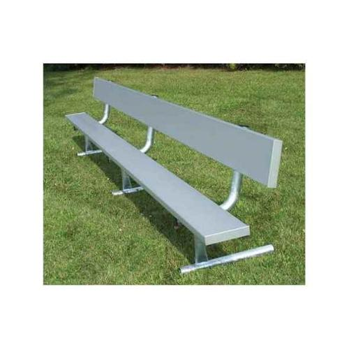Portable Bench with Back (21 ft.)