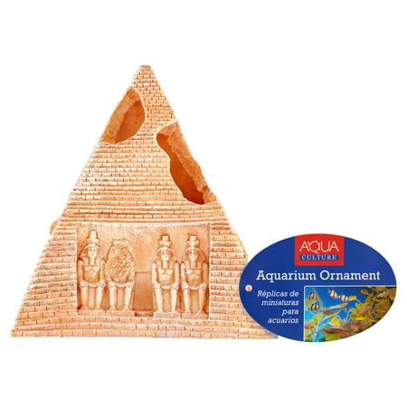 Aqua Culture 5 5  Pyramid Aquarium Ornament Decoration